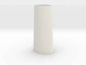 Flicka 1.2 Lighthouse in White Natural Versatile Plastic