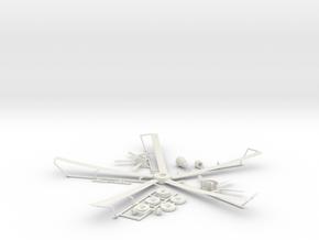 6 of 6 (Auto Gyro) in White Natural Versatile Plastic