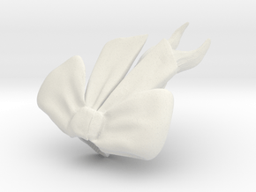 ponytail in White Natural Versatile Plastic