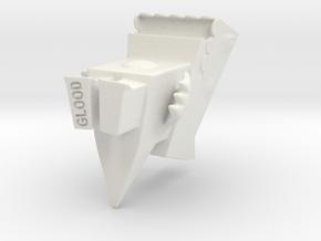 Cutzilla mid-size in White Natural Versatile Plastic