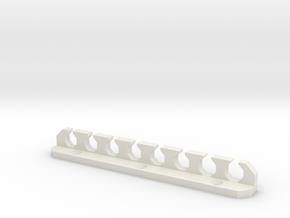Toolholder for Wiha Socket Drivers in White Natural Versatile Plastic