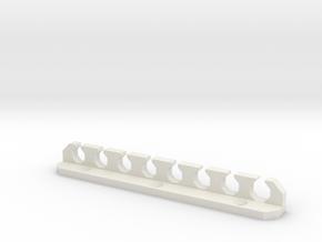 Toolholder for Wiha Torx Drivers in White Natural Versatile Plastic