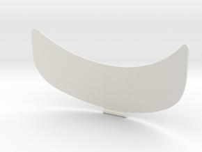 cut side Rev.1 in White Natural Versatile Plastic