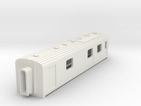 N Scale Werkspoor Dundalk Gen Van in White Natural Versatile Plastic