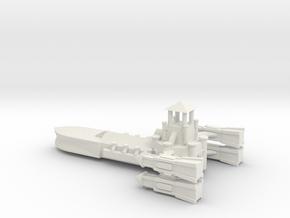 Gothic Destroyer in White Natural Versatile Plastic