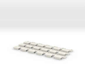 USBH-3.6 18st in White Natural Versatile Plastic