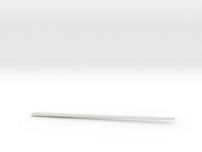 Chopstick in White Natural Versatile Plastic