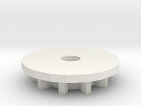 dent in White Natural Versatile Plastic