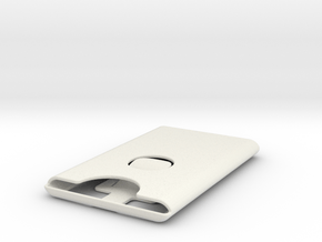 Card Carrier 2.0 in White Natural Versatile Plastic