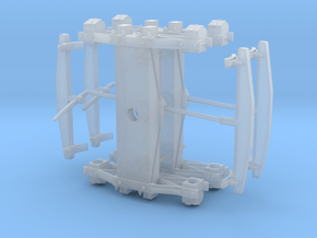 Swing Motion Truck - 22.7 mm axles in Smooth Fine Detail Plastic
