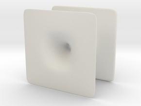 Wormhole_smallest in White Natural Versatile Plastic