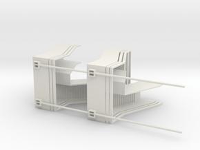 scalier2 in White Natural Versatile Plastic