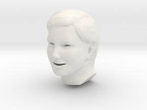 head in White Natural Versatile Plastic