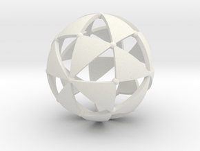 Octahedral group in White Natural Versatile Plastic
