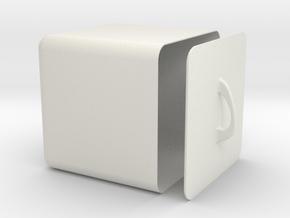 boite ouverte in White Natural Versatile Plastic