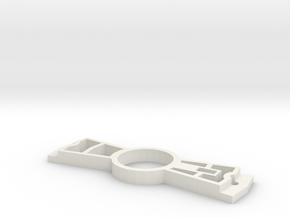 hollerkap in White Natural Versatile Plastic