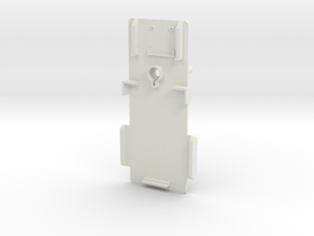 Component tray in White Natural Versatile Plastic