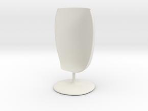 glass_12cm in White Natural Versatile Plastic