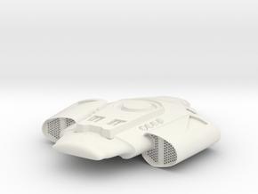 D2 in White Natural Versatile Plastic