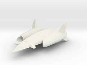 Arroh ship in White Natural Versatile Plastic