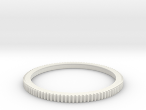 gear ring in White Natural Versatile Plastic