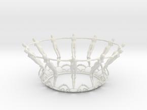 HandInHand in White Natural Versatile Plastic