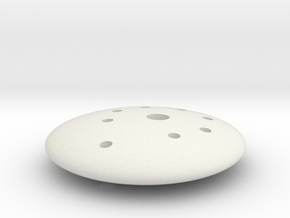 knoop 3 in White Natural Versatile Plastic