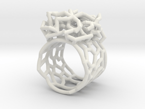 tangle in White Natural Versatile Plastic