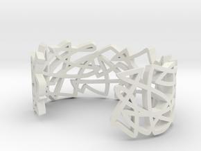 GRAF medium in White Natural Versatile Plastic