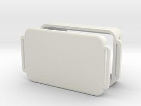 SkydiveGPSV6.0 in White Natural Versatile Plastic
