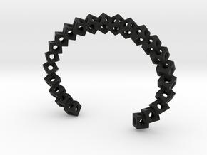 CUBE Medium in Black Natural Versatile Plastic