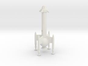 """R-Rocket """"Mercury""""-Class Medium in White Natural Versatile Plastic"""