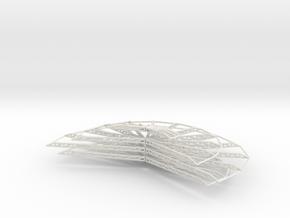 Onion Floors in White Natural Versatile Plastic
