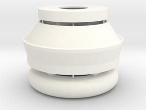 CN Tower Main Pod in White Processed Versatile Plastic