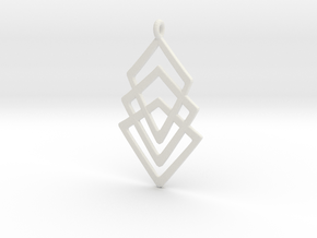 Nexluss 1 in White Natural Versatile Plastic