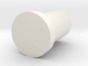slim 3x3x4 pin (print 1) in White Natural Versatile Plastic