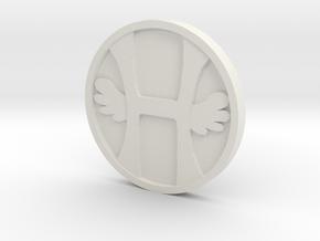 Heaven in White Natural Versatile Plastic