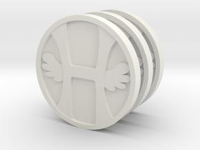 Three Heavens in White Natural Versatile Plastic