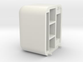 USB Tools Modeule Top in White Natural Versatile Plastic