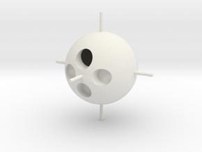 Mini 7x7 Core (3 of 3) Print 1 in White Natural Versatile Plastic