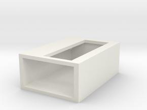 lcdbox in White Natural Versatile Plastic