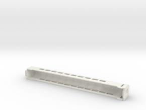Railjet Economy Endwagen in White Natural Versatile Plastic