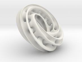 sjoo-Torus in White Natural Versatile Plastic