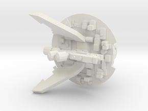 Marker Laser Hover Drone in White Natural Versatile Plastic