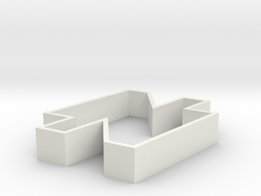Sebo Cookie Cutter part 2 in White Natural Versatile Plastic