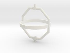 Gyroscope part 2 in White Natural Versatile Plastic