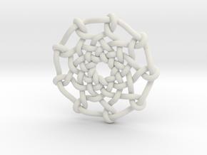 Celtic Knots 04 (small) in White Natural Versatile Plastic