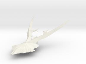 Geweih03 in White Natural Versatile Plastic