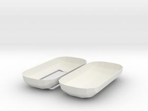 capsule4 in White Natural Versatile Plastic