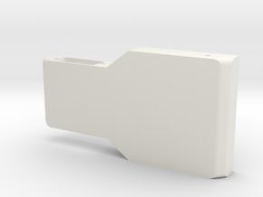 Robot carter2 in White Natural Versatile Plastic